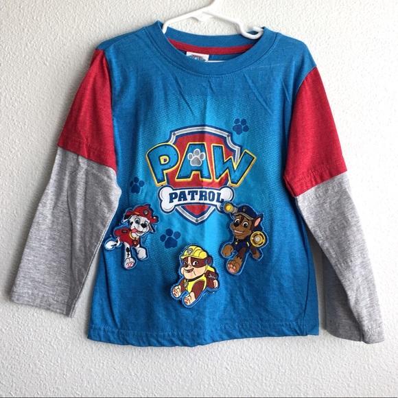 Paw Patrol Boys Long Sleeves T Shirt
